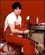 Jack White of The White Stripes