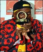 Jimmy Cliff at the Q Awards