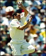 Harmison had a torrid over
