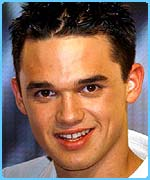 Pop Idol star Gareth Gates became a huge star