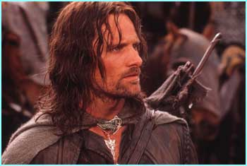 Viggo Mortensen as Aragorn - Photo Credit: Pierre Vinet/New Line Cinema