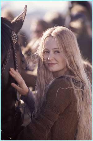 Eowyn (Miranda Otto)  - Photo Credit: Pierre Vinet/New Line Cinema