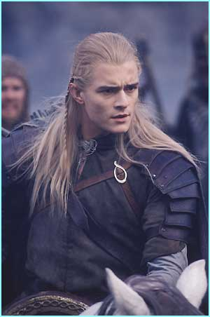 Legolas (Orlando Bloom)  - Photo Credit: Pierre Vinet/New Line Cinema