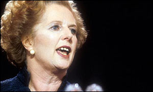 Margaret Thatcher in early 1980s