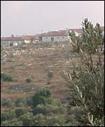 The Jewish settlement of Tapuach