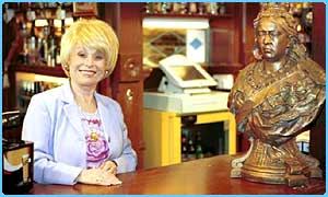 Peggy Mitchell - the Queen Vic landlady