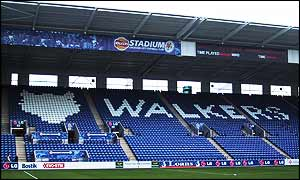 Leicester's new ground is called the Walkers Stadium
