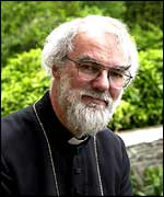 Rowan Williams portrait shot   PA