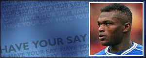 Marcel Desailly is one of a many overseas stars at Chelsea