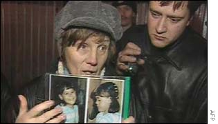 Relatives of the hostages