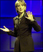 Hewlett-Packard CEO Carly Fiorina