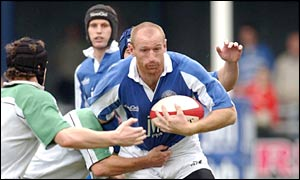 Bridgend centre Gareth Thomas