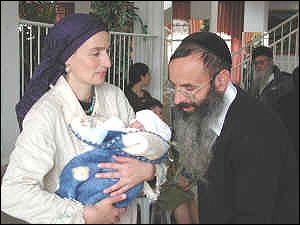 Braja Ben colona judía de Hebrón