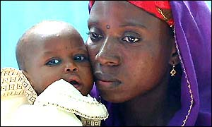 Amina Lawal with child