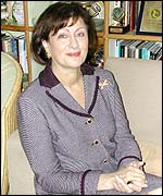 Haifa Fahoum Al Kaylani, founder of the Arab International Women's Forum