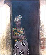 Woman from Cabinda