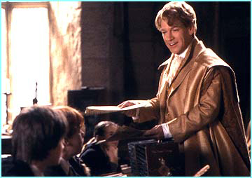 Guilderoy Lockhart starts his first lesson