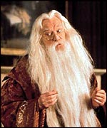 Richard Harris as Albus Dumbledore