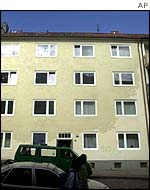 Hamburg apartment where WTC attackers lived