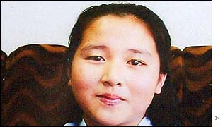 Kim Hye-gyong, daughter of kidnapped woman