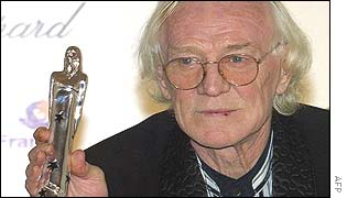 Richard Harris in Paris, December 2000