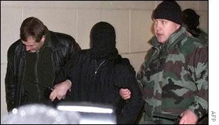 Russian special forces escort hostage-taker