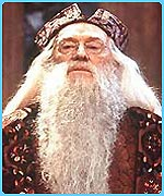 Richard Harris as the great Professor Dumbledore