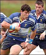 Leinster try scorer Shane Horgan