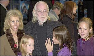 Richard Harris with family
