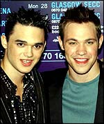 Will Young and Gareth Gates