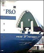 The P&O ferry - the Pride Of Portsmouth - PA
