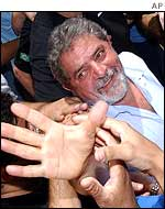 Lula on the campaign trail