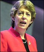 Trade and Industry secretary Patricia Hewitt