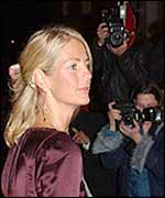 Ulrika at her book launch