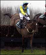 Adrian Maguire rides Truckers Tavern to victory at Towcester in January
