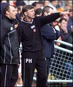 Maurice Malpas and Paul Hegarty at Tannadice on Saturday