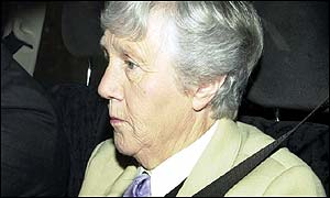 Former nanny Olga Powell leaving the Old Bailey