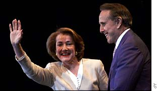 Elizabeth and Bob Dole