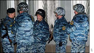 BBC NEWS | Europe | Spetsnaz: Russia's elite force