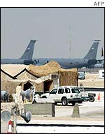US military base at al-Udeid, Qatar