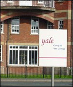 Pupils at Yale use the buses