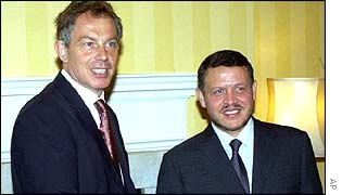 Tony Blair and King Abdullah