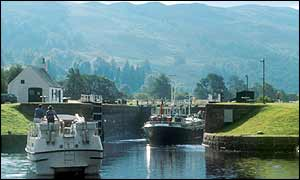 Cullochy Lock, Caledonian Canal, Scotland