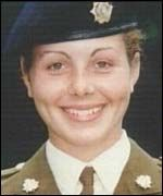 Private Cheryl James was found with a bullet through her forehead