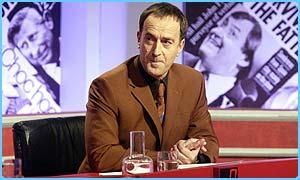 Angus Deayton hosted Have I Got News For You since 1990