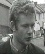 Martin McGuinness pictured in the Bogside in Derry in 1969