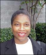 Vanessa Affott of an African-American neighbourhood in Dallas