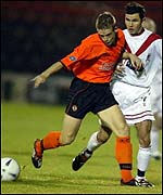 Airdrie United v Dundee United