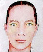 One of the suspects in the Bali bombing (AP)