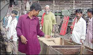 Last shift at the Adamjee jute mill